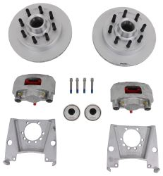 "Kodiak Disc Brake Kit - 13"" Hub/Rotor - 8 on 6-1/2 - Dacromet - 7,000-lb Axle"