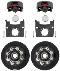 "Kodiak XL-Lube Disc Brake Kit - 13"" Hub/Rotor - 8 on 6-1/2 - E-Coat - 7,000-lb Dexter Axle"