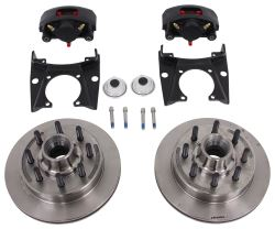 "Kodiak Disc Brake Kit - 13"" Hub/Rotor - 8 on 6-1/2 - Raw Finish - 8,000-lb AL-KO/Quality"