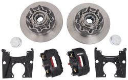 "Kodiak XL-Lube Disc Brake Kit - 13"" Hub/Rotor - 8 on 6-1/2 - Raw Finish - 8,000-lb Dexter Axle"