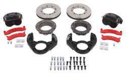"Kodiak Disc Brake Kit - 11"" Rotor - 8 on 6.5 - Raw Finish - Leaf Spring - 12K - Dexter/Lippert"