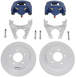 "Kodiak Disc Brake Kit - 10"" Rotor - 5 on 4-1/2 - Dacromet and KodaGuard - 3,500 lbs"