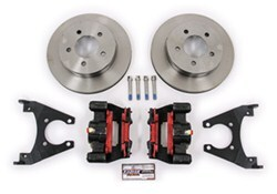 "Kodiak Disc Brake Kit - 10"" Rotor - 5 on 4-1/2 - Raw Finish - 3,500 lbs"