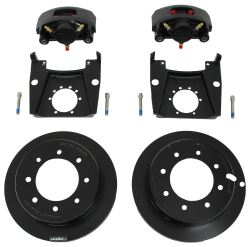 "Kodiak Disc Brake Kit - 13"" Rotor - 8 on 6-1/2 - Raw Finish - 1/2"" Bolts - 7,000 lbs"