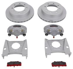 "Kodiak Disc Brake Kit - 13"" Rotor - 8 on 6-1/2 - Dacromet - 9/16"" Bolts - 7,000 lbs"