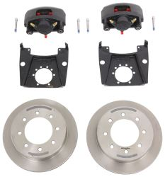 "Kodiak Disc Brake Kit - 13"" Rotor - 8 on 6-1/2 - Raw Finish - 9/16"" Bolts - 7,000 lbs"