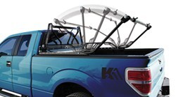 Detail K2 Flip Rack Fold Down Ladder Rack - 500 lbs