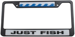 Just Fish License Plate Frame