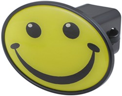 "Smiley Face 2"" Trailer Hitch Receiver Cover"