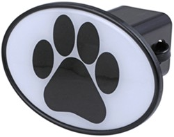 "Paw Print 2"" Trailer Hitch Receiver Cover"
