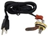 Kat's Heaters Custom Engine Block Heater - Frost Plug Style - 120V - 400 Watts - 35 mm