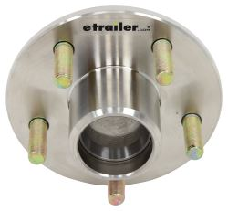 Kodiak Trailer Hub for 3,500-lb Axles - 5 on 4-1/2 - Stainless Steel