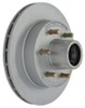 "Kodiak 12"" Hub-and-Rotor Assembly - 6 on 5-1/2 - Dacromet - 5,200 lbs to 6,000 lbs"