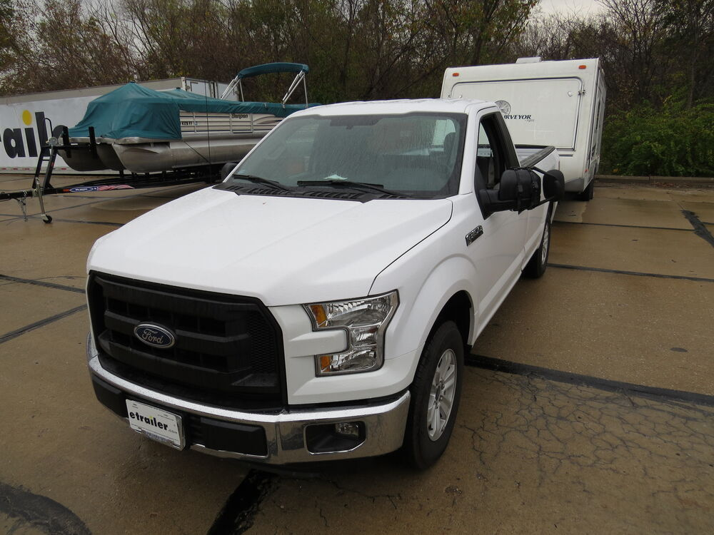 2015 ford f 150 custom towing mirrors k source. Black Bedroom Furniture Sets. Home Design Ideas