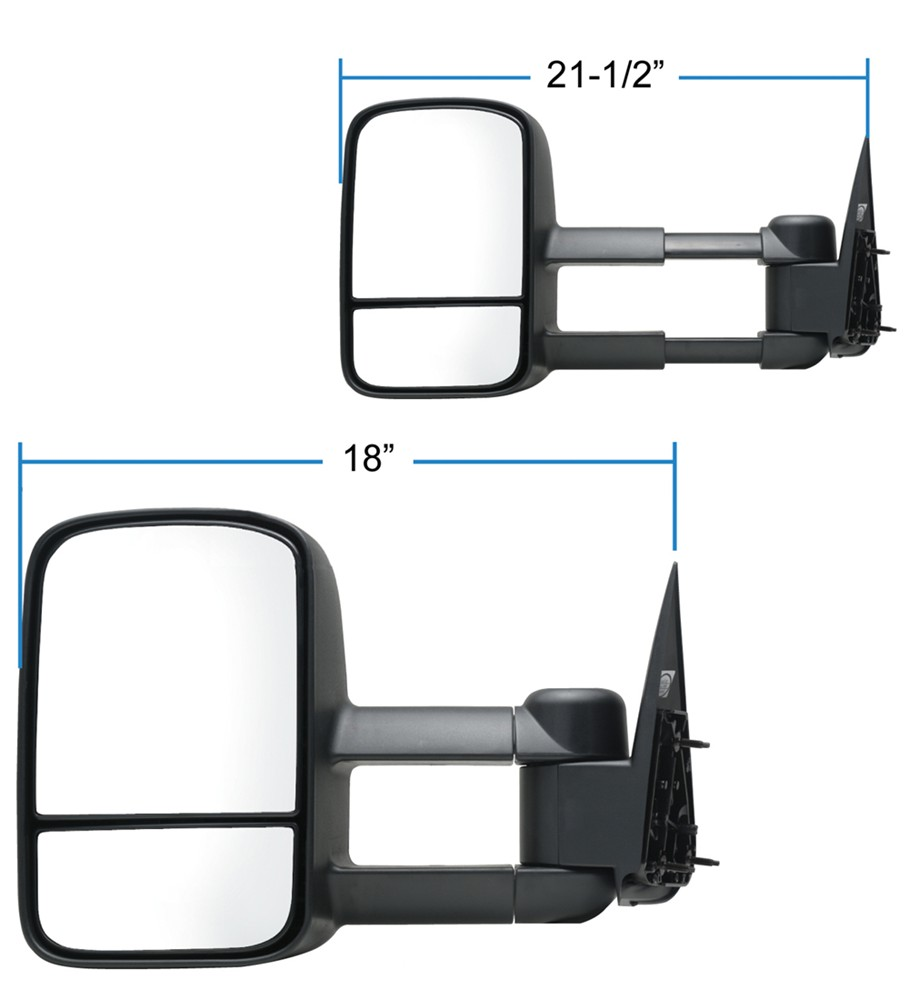 2000 Ford F-250 And F-350 Super Duty Custom Towing Mirrors