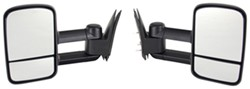 K-Source Custom Extendable Towing Mirrors - Manual - Black - Pair