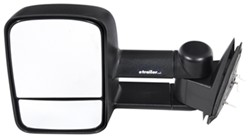 K-Source Custom Extendable Towing Mirror - Manual - Black - Driver Side