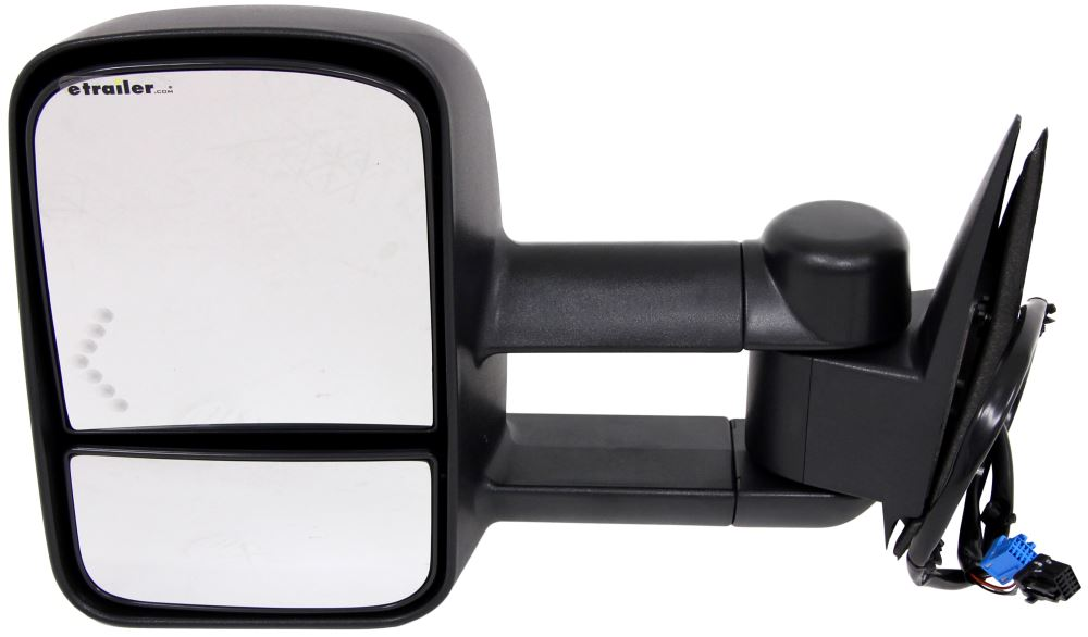 K source custom extendable towing mirror electric heat w for Mirror source