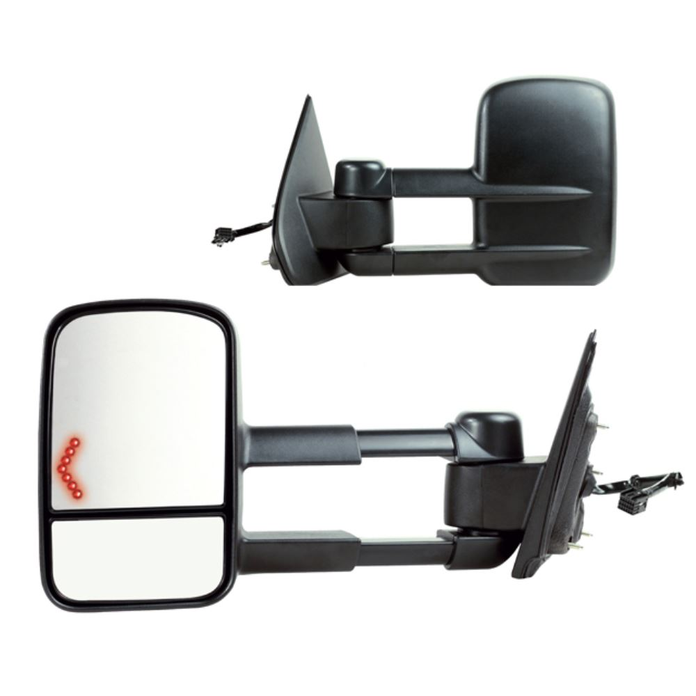 custom towing mirrors k source. Black Bedroom Furniture Sets. Home Design Ideas