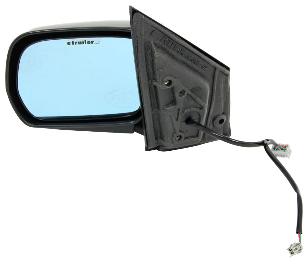 K source replacement side mirror electric heated black for Mirror source