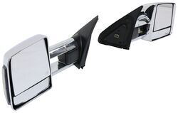 K-Source Custom Extendable Towing Mirrors - Electric/Heat w Turn Signal - Black/Chrome - Pair