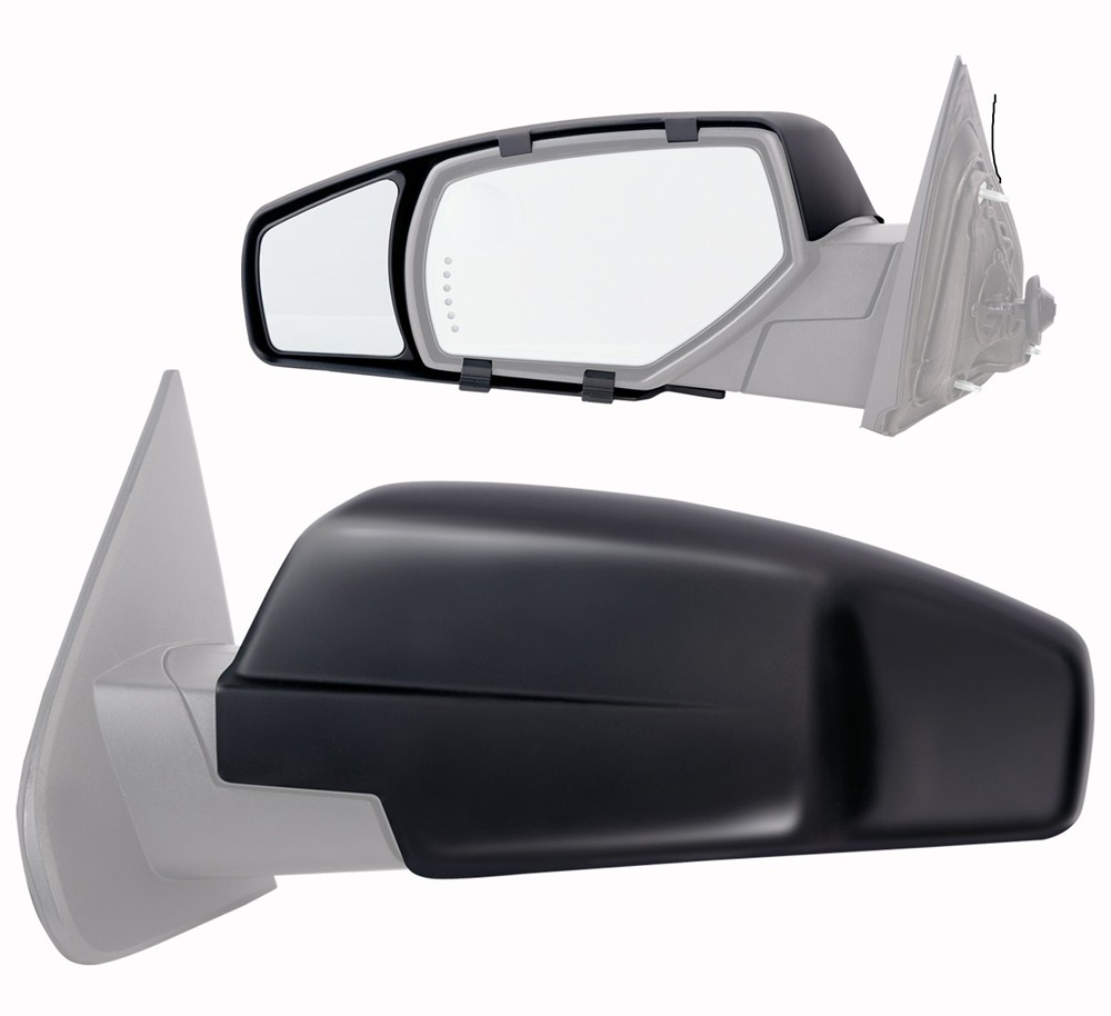 Vehicle Towing Mirrors : Chevrolet silverado custom towing mirrors k source
