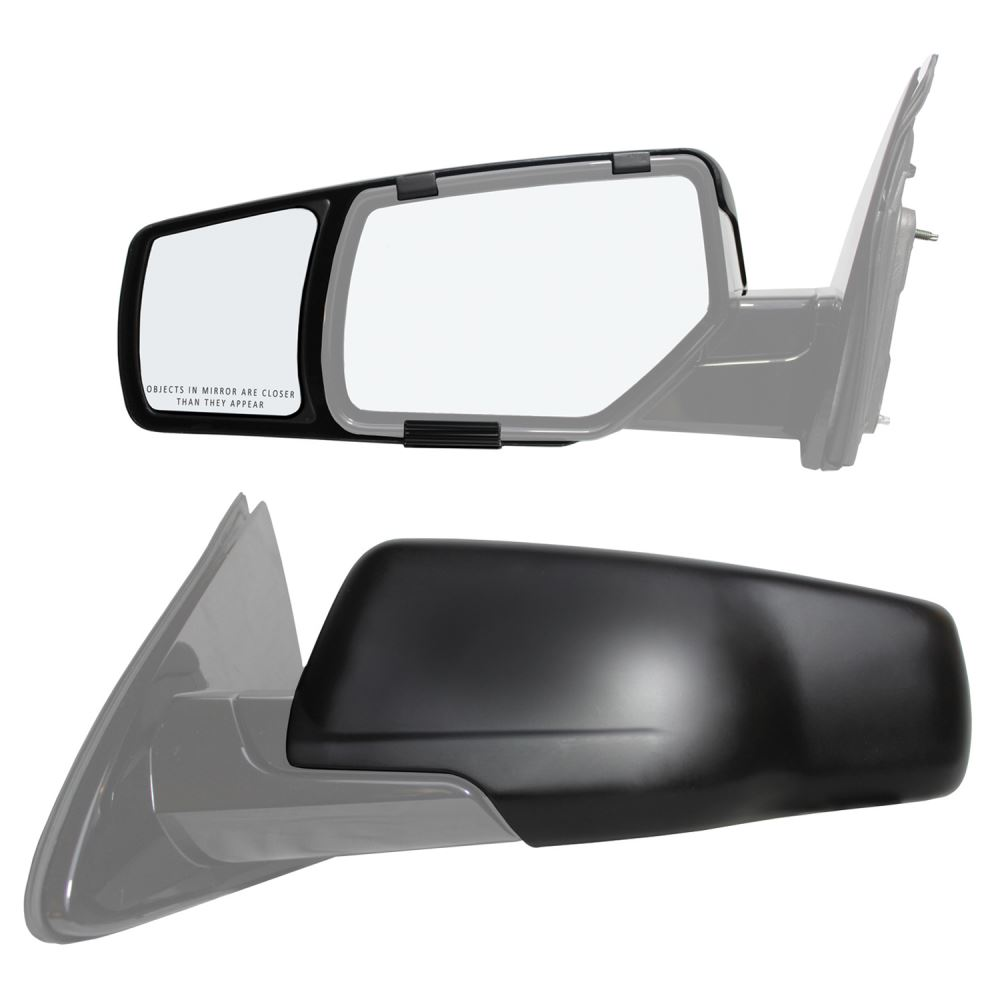K source snap zap custom towing mirrors snap on for Custom mirrors