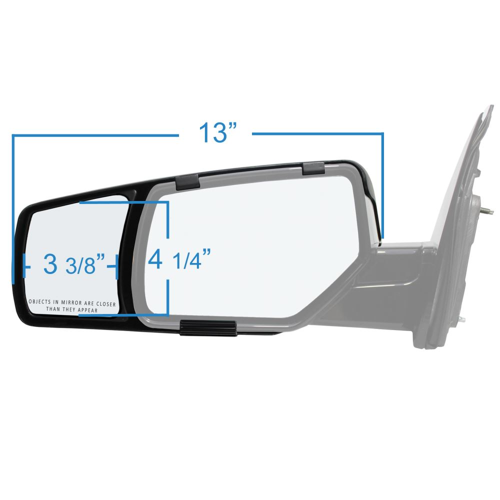 2016 chevrolet suburban custom towing mirrors k source for Custom mirrors