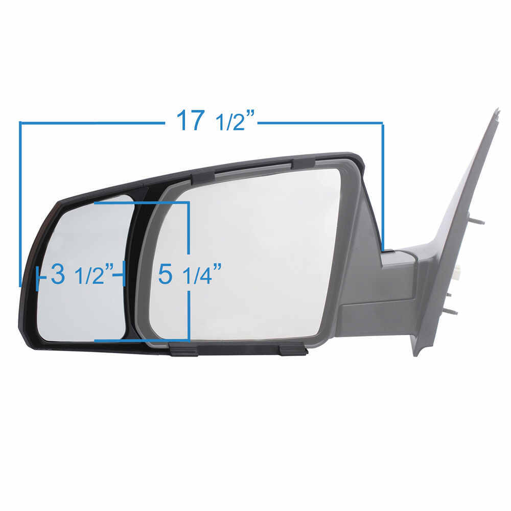 2017 toyota tundra custom towing mirrors k source for Custom mirrors