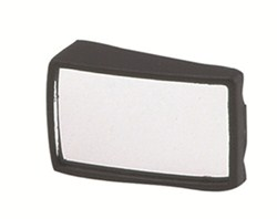 "K-Source Blind Spot Mirror - Convex - Stick On - 1-1/2"" x 2-1/4"" Wedge - Qty 1"