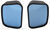 k source custom towing mirrors blind spot mirror non-heated k-source blind-spot w/ optical blue lenses - driver and passenger side