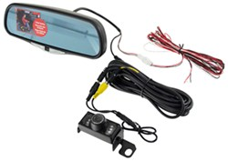 K-Source Vision System - Rear-Mount Camera and Rear-View Mirror Display Monitor