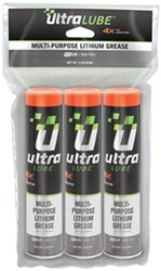 UltraLube Biobased, Multipurpose Lithium Grease - 3-oz Cartridge - Qty 3