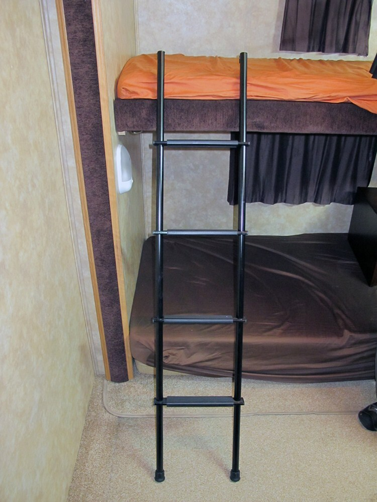 Stromberg Carlson Rv Bunk Ladder Aluminum Black 60