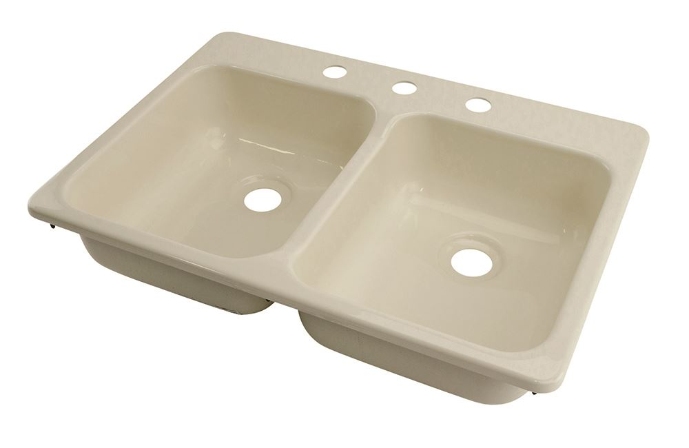better bath 25 quot x 17 quot sink 3 parchment