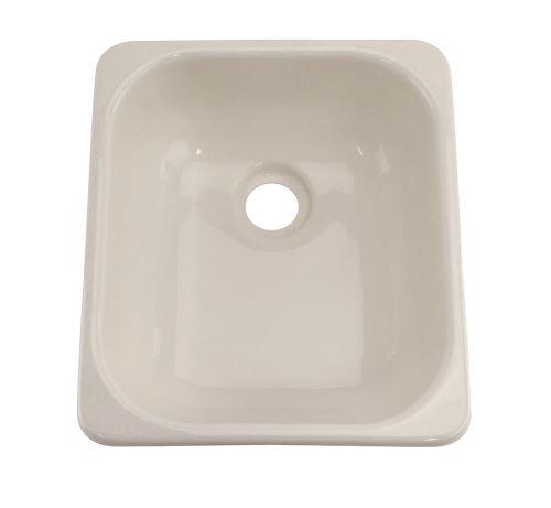 """Galley Kitchen Sink: Better Bath 15-1/2"""" X 12-3/4"""" Square Galley/Kitchen Sink"""