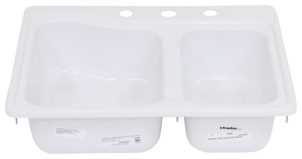 better bath 24 3 4 x 19 double sink 3 holes white