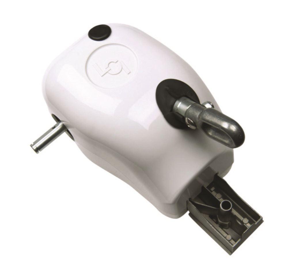 Solera Manual Crank Style Awning Drive Head White Lippert