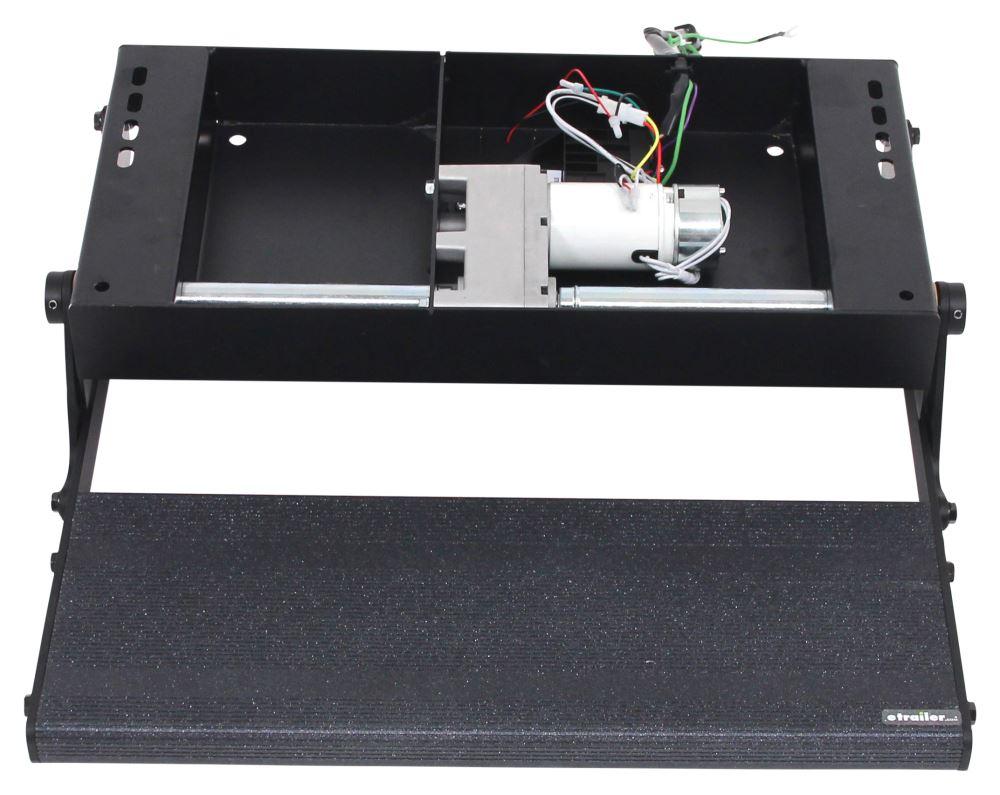 Lippert electric tread lite step for rvs single 4 3 8 for Motorized rv entry steps