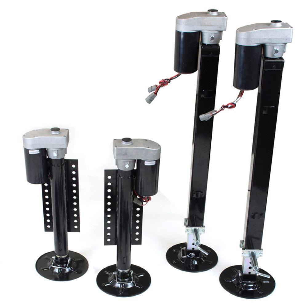 Rv Hydraulic Leveling Jacks : Lippert ground control electric th wheel rv leveling