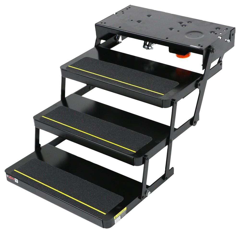Lippert kwikee 24 series electric steps 3 steps 7 for Motorized rv entry steps