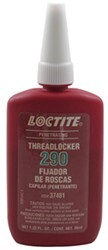 "Loctite Threadlocker 290 - Penetrating - Green - #2 to 1/2"" Nuts/Bolts - 1.22-Fl Oz Bottle"