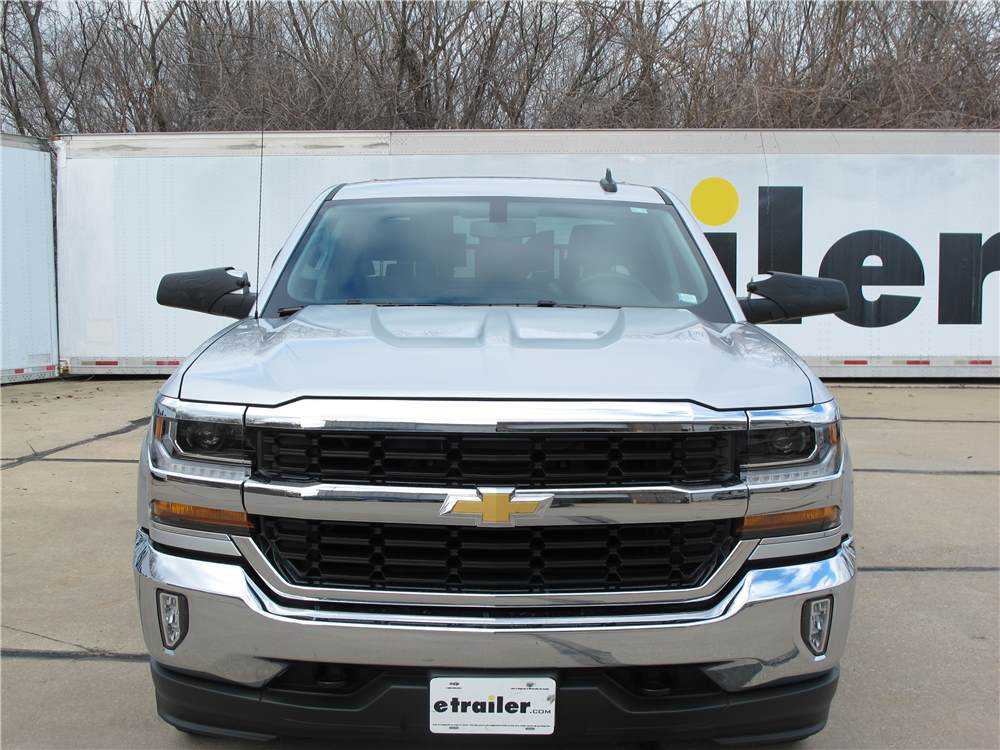 2017 chevrolet silverado 1500 custom towing mirrors longview. Black Bedroom Furniture Sets. Home Design Ideas