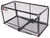 carpod hitch cargo carrier enclosed fits 2 inch 24x48-3/4 walled folding - hitches w/ lid bag rise shank 450 lbs