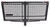 carpod hitch cargo carrier enclosed folding 24x48-3/4 walled - 2 inch hitches w/ lid bag rise shank 450 lbs