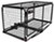 carpod hitch cargo carrier flat fits 2 inch 23x47 walled w/ lid - hitches steel folding 450 lbs