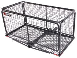 "23x47 Carpod Walled Cargo Carrier w/ Lid - 2"" Hitches - Steel - Folding - 450 lbs"