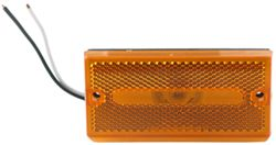 Optronics Rectangular Trailer Clearance, Side Marker Light - Amber