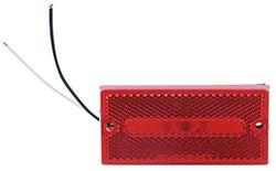 Optronics Rectangular Trailer Clearance, Side Marker Light - Red