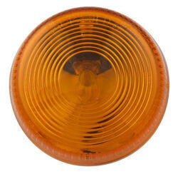 "2-1/2"" Round Trailer Clearance and Side Marker Light, Surface Mount - Amber"